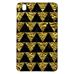 Triangle2 Black Marble & Gold Foil Samsung Galaxy Tab Pro 8 4 Hardshell Case by trendistuff