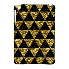 Triangle3 Black Marble & Gold Foil Apple Ipad Mini Hardshell Case (compatible With Smart Cover) by trendistuff
