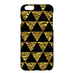 Triangle3 Black Marble & Gold Foil Apple Iphone 6 Plus/6s Plus Hardshell Case by trendistuff