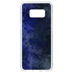 Marbled Structure 4b Samsung Galaxy S8 White Seamless Case by MoreColorsinLife