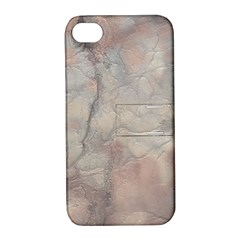 Marbled Structure 5a Apple Iphone 4/4s Hardshell Case With Stand by MoreColorsinLife