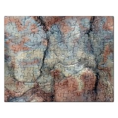 Marbled Structure 5a2 Rectangular Jigsaw Puzzl by MoreColorsinLife