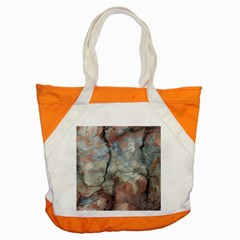 Marbled Structure 5a2 Accent Tote Bag by MoreColorsinLife