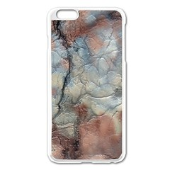Marbled Structure 5a2 Apple Iphone 6 Plus/6s Plus Enamel White Case by MoreColorsinLife