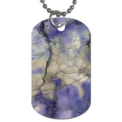 Marbled Structure 5b2 Dog Tag (two Sides) by MoreColorsinLife