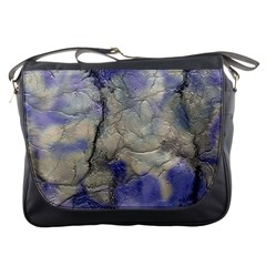 Marbled Structure 5b2 Messenger Bags by MoreColorsinLife
