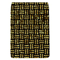 Woven1 Black Marble & Gold Foil Flap Covers (s)