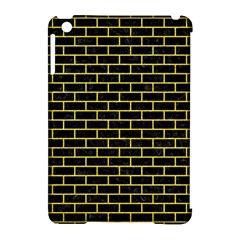 Brick1 Black Marble & Gold Glitter Apple Ipad Mini Hardshell Case (compatible With Smart Cover) by trendistuff