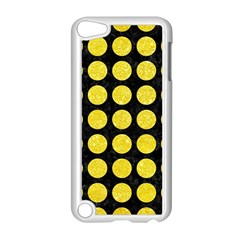 Circles1 Black Marble & Gold Glitter Apple Ipod Touch 5 Case (white) by trendistuff