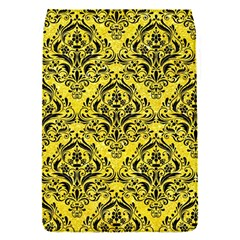 Damask1 Black Marble & Gold Glitter (r) Flap Covers (s)
