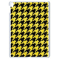 Houndstooth1 Black Marble & Gold Glitter Apple Ipad Pro 9 7   White Seamless Case by trendistuff