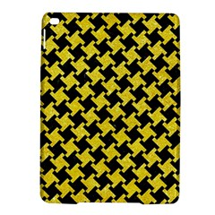 Houndstooth2 Black Marble & Gold Glitter Ipad Air 2 Hardshell Cases by trendistuff
