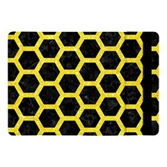 Hexagon2 Black Marble & Gold Glitter Apple Ipad Pro 10 5   Flip Case by trendistuff