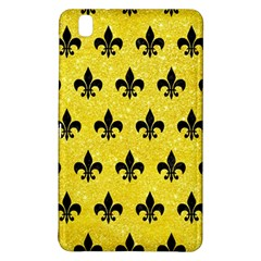 Royal1 Black Marble & Gold Glitter Samsung Galaxy Tab Pro 8 4 Hardshell Case by trendistuff