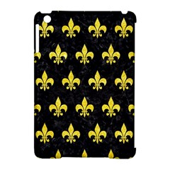 Royal1 Black Marble & Gold Glitter (r) Apple Ipad Mini Hardshell Case (compatible With Smart Cover) by trendistuff