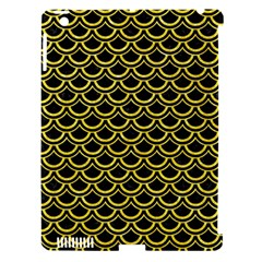 Scales2 Black Marble & Gold Glitterscales2 Black Marble & Gold Glitter Apple Ipad 3/4 Hardshell Case (compatible With Smart Cover) by trendistuff