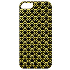 Scales2 Black Marble & Gold Glitterscales2 Black Marble & Gold Glitter Apple Iphone 5 Classic Hardshell Case by trendistuff