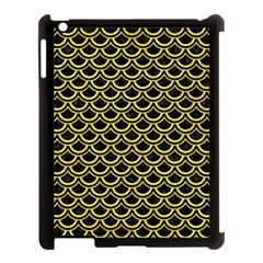 Scales2 Black Marble & Gold Glitterscales2 Black Marble & Gold Glitter Apple Ipad 3/4 Case (black) by trendistuff