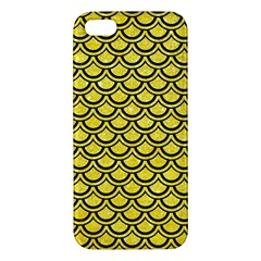 Scales2 Black Marble & Gold Glitter (r) Iphone 5s/ Se Premium Hardshell Case
