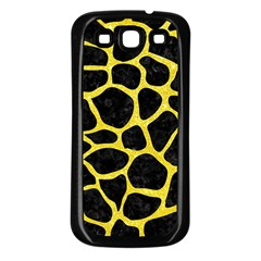 Skin1 Black Marble & Gold Glitter (r) Samsung Galaxy S3 Back Case (black) by trendistuff