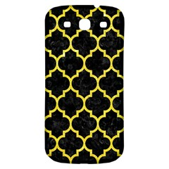 Tile1 Black Marble & Gold Glitter Samsung Galaxy S3 S Iii Classic Hardshell Back Case by trendistuff