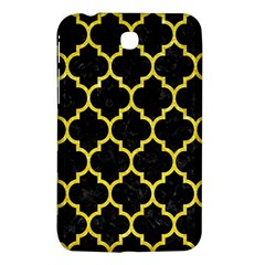 Tile1 Black Marble & Gold Glitter Samsung Galaxy Tab 3 (7 ) P3200 Hardshell Case  by trendistuff