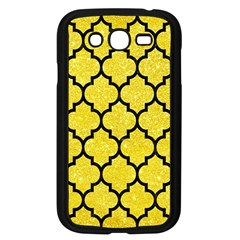 Tile1 Black Marble & Gold Glitter (r) Samsung Galaxy Grand Duos I9082 Case (black) by trendistuff