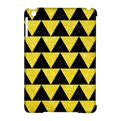 Triangle2 Black Marble & Gold Glitter Apple Ipad Mini Hardshell Case (compatible With Smart Cover) by trendistuff