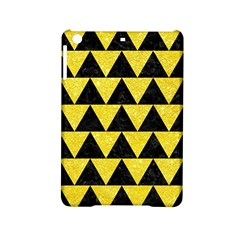 Triangle2 Black Marble & Gold Glitter Ipad Mini 2 Hardshell Cases by trendistuff