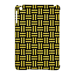 Woven1 Black Marble & Gold Glitter Apple Ipad Mini Hardshell Case (compatible With Smart Cover) by trendistuff