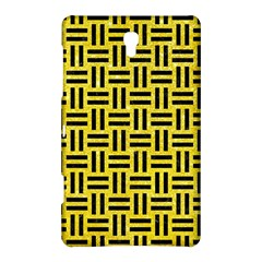 Woven1 Black Marble & Gold Glitter (r) Samsung Galaxy Tab S (8 4 ) Hardshell Case  by trendistuff