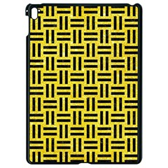 Woven1 Black Marble & Gold Glitter (r) Apple Ipad Pro 9 7   Black Seamless Case by trendistuff