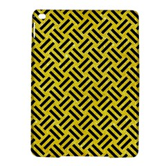 Woven2 Black Marble & Gold Glitter (r) Ipad Air 2 Hardshell Cases by trendistuff