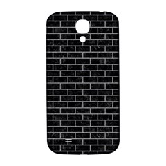 Brick1 Black Marble & Gray Colored Pencil Samsung Galaxy S4 I9500/i9505  Hardshell Back Case by trendistuff