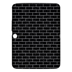 Brick1 Black Marble & Gray Colored Pencil Samsung Galaxy Tab 3 (10 1 ) P5200 Hardshell Case  by trendistuff
