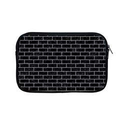 Brick1 Black Marble & Gray Colored Pencil Apple Macbook Pro 13  Zipper Case by trendistuff