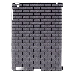 Brick1 Black Marble & Gray Colored Pencil (r) Apple Ipad 3/4 Hardshell Case (compatible With Smart Cover) by trendistuff