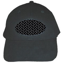 Brick2 Black Marble & Gray Colored Pencilbrick2 Black Marble & Gray Colored Pencil Black Cap by trendistuff