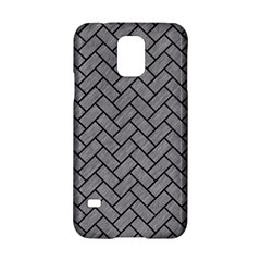 Brick2 Black Marble & Gray Colored Pencil (r) Samsung Galaxy S5 Hardshell Case  by trendistuff