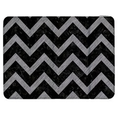 Chevron9 Black Marble & Gray Colored Pencil Samsung Galaxy Tab 7  P1000 Flip Case by trendistuff