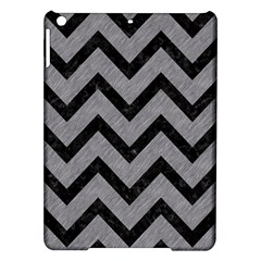 Chevron9 Black Marble & Gray Colored Pencil (r) Ipad Air Hardshell Cases by trendistuff