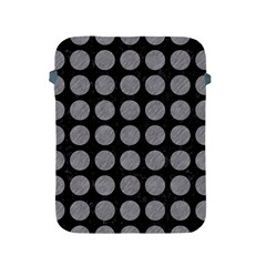 Circles1 Black Marble & Gray Colored Pencilcircle1 Black Marble & Gray Colored Pencil Apple Ipad 2/3/4 Protective Soft Cases by trendistuff