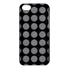 Circles1 Black Marble & Gray Colored Pencilcircle1 Black Marble & Gray Colored Pencil Apple Iphone 5c Hardshell Case by trendistuff