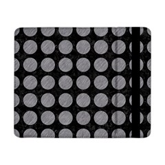 Circles1 Black Marble & Gray Colored Pencilcircle1 Black Marble & Gray Colored Pencil Samsung Galaxy Tab Pro 8 4  Flip Case by trendistuff