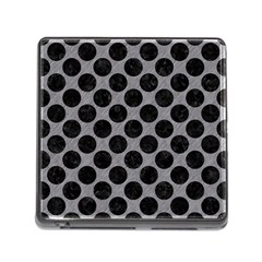 Circles2 Black Marble & Gray Colored Pencil (r) Memory Card Reader (square) by trendistuff