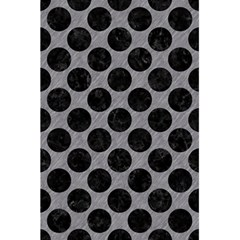 Circles2 Black Marble & Gray Colored Pencil (r) 5 5  X 8 5  Notebooks by trendistuff