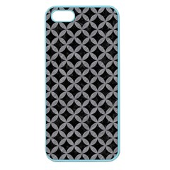 Circles3 Black Marble & Gray Colored Pencil Apple Seamless Iphone 5 Case (color) by trendistuff