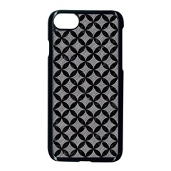 Circles3 Black Marble & Gray Colored Pencil (r) Apple Iphone 7 Seamless Case (black) by trendistuff