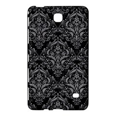 Damask1 Black Marble & Gray Colored Pencil Samsung Galaxy Tab 4 (7 ) Hardshell Case  by trendistuff