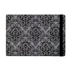 Damask1 Black Marble & Gray Colored Pencil (r) Ipad Mini 2 Flip Cases by trendistuff